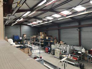Installation électrique atelier industriel Saint Herblain